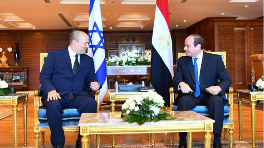 """السيسي: """"تفاهم مصري إسرائيلي"""